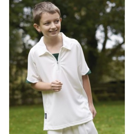 Cricket Short Sleeve Shirt (Junior)(DF)