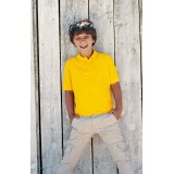Kids Short Sleeved Polo