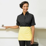Ladies Roll Sleeve Poplin Shirt
