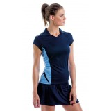 Womens short sleeved Polo sports shirt